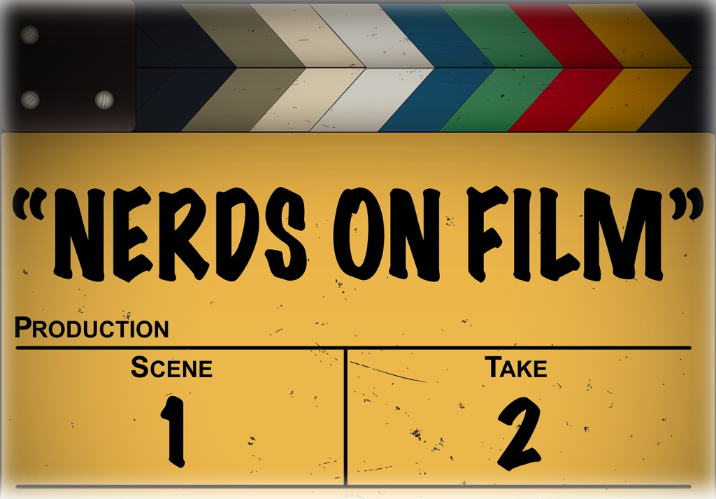 Nerds on Film Banner Logo